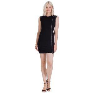 🖤 Vertigo Paris Amorous Ponte Zipper Dress